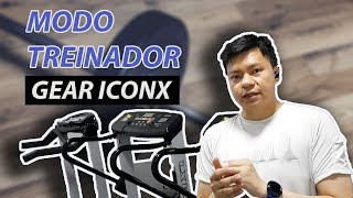 "Treinando com o ""personal trainer"" do Gear IconX (2018)"