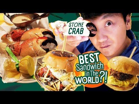 Miami STONE CRAB & BEST SANDWICH In The WORLD In Las Vegas