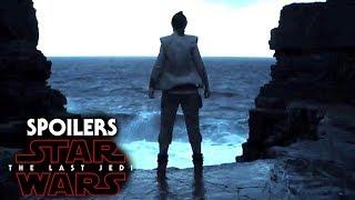Star Wars The Last Jedi Spoilers Of Dark Side Of The Force & Rey's Fears!