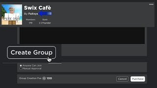 How To Create A Group In Roblox 2019 [NEW]