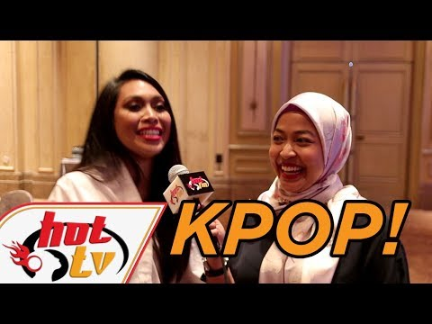 Dayang minat K-POP rupanya!