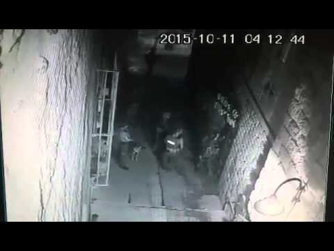 Israeli soldiers breaking into and ransacking PCR/IMEMC Palestinian News office