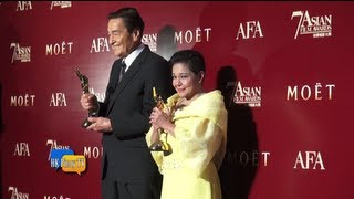 Nora Eddie bag top awards at the 7th Asian Film Awards