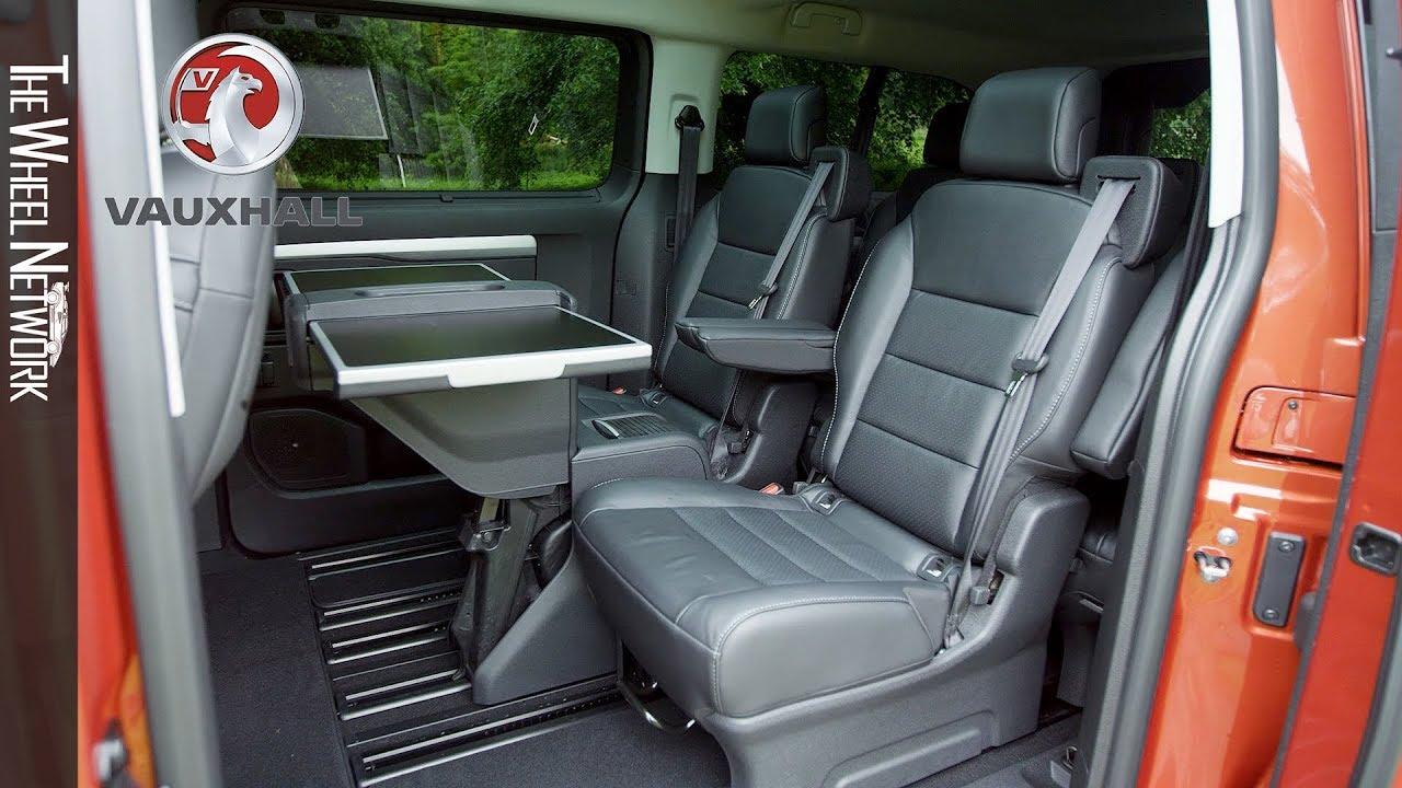 2019 Vauxhall Vivaro Life Interior Youtube