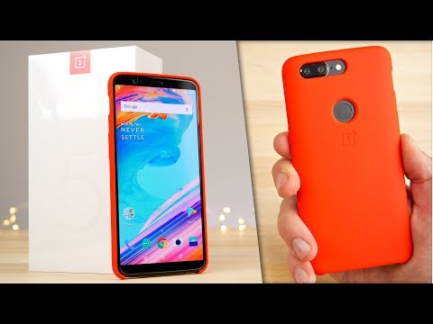 Thumbnail: OnePlus 5T Unboxing & First Impressions!