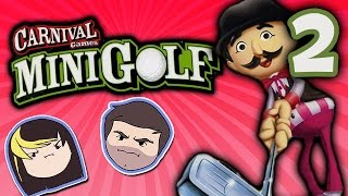 Carnival Games Mini Golf: Pinball!! - PART 2 - Grumpcade