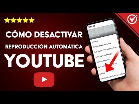 Cómo Desactivar la Reproducción Automática de YouTube en Android, iPhone y PC