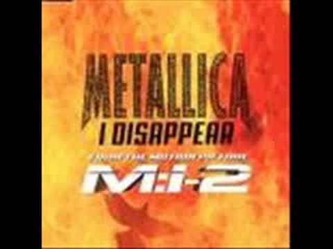 Metallica I Disappear