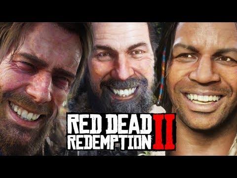 ARTHUR MORGAN'S FUNNIEST JOKES PART 2! Red Dead Redemption 2 thumbnail