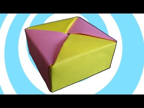 Modular Origami Box with Lid Instructions (Tomoko Fuse)