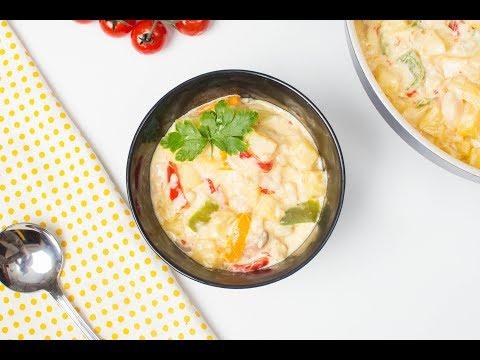 Creamy Fish And Potato Soup
