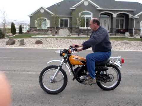 1975 Kawasaki G4TR 100cc.MPG - YouTube