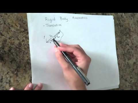 Engineering Dynamics 1: Rigid Body Kinematics- Translation