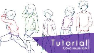 Tutorial ۰•●Como dibujar ropa y sus respectivos pliegues●•۰