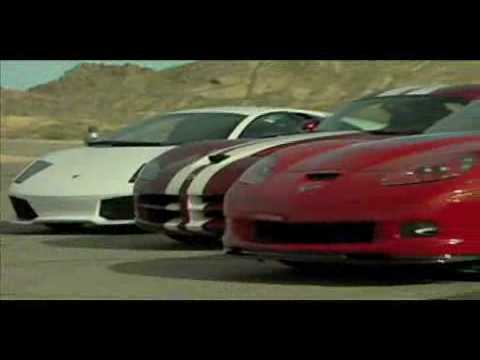 Dodge Viper SRT-10 vs Corvette ZR1 vs Mercedes SL65 AMG Black vs Lamborghini Murcielago LP640