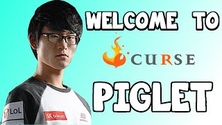 """Piglet """"Welcome to Team Curse""""● Best Plays ● Highlights ● Outplays"""