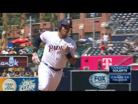 MIL@SD: Solarte launches a two-run home run