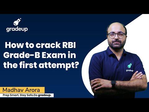 How to Crack RBI Grade B 2020 Exam in First Attempt? | Madhav Arora | Gradeup
