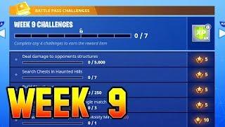 "Fortnite ""Week 9"" Challenges LEAKED! ALL Challenges Guide (Season 4)"