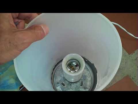 Como pantalla para lámpara y Pantalla Como Reparar lámpara o una hacer Fabricar para dxtQrCsh