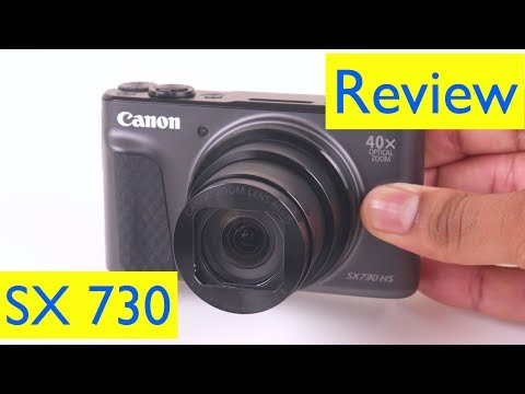 Canon PowerShot SX730 HS Review and Vlog HD Video Test and Zoom Test