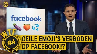 🍑 en 🍆 EMOJI'S VERBODEN?! - WTF NIEUWS #4 The Daily Show