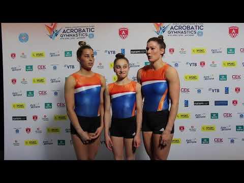 The Netherlands - Interview Fem Van Os, Mariska Van De Water & Pleunie Van Mook