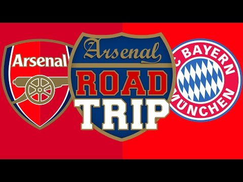 Arsenal v Bayern Munich | Road Trip To The Emirates Stadium