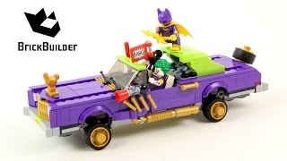 Lego Batman 70906 The Joker Notorious Lowrider - Lego Speed Build