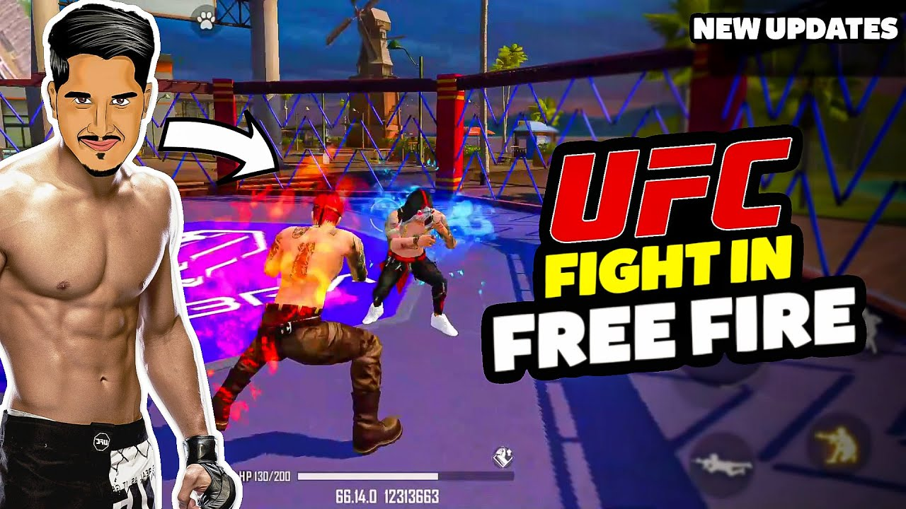 UFC Fist Fight in Free Fire || New Updates || Desi Gamers