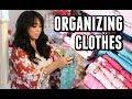 FINALLY ORGANIZING CLOTHES! LIFE CHANGING!!! -  ItsJudysLife Vlogs