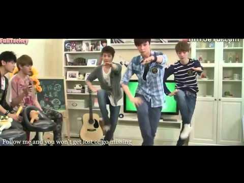EXO M Don't Go 蝴蝶少女 Full MV ENG SUB