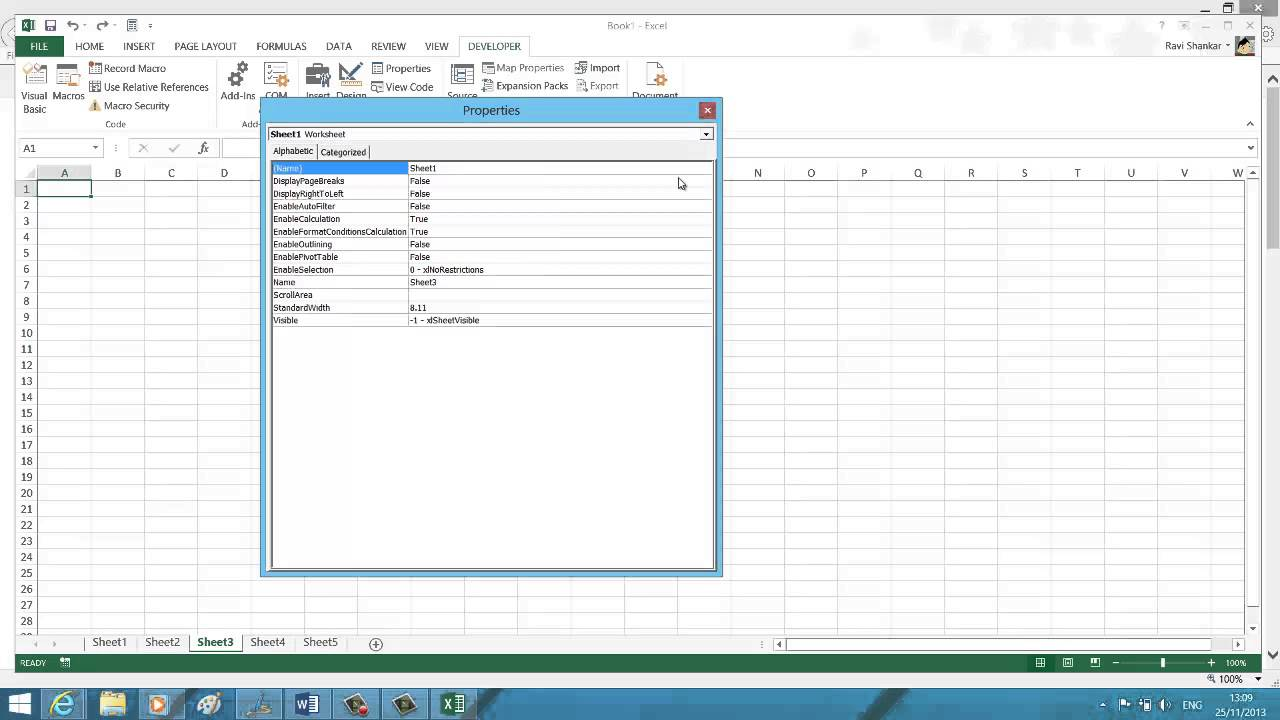 Worksheets Unhide Worksheet Excel 2013 another way to hide and unhide worksheet in excel 2013 youtube 2013