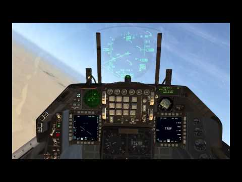 Falcon BMS: JSOW + Cluster hunt in ITO