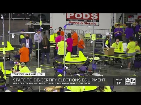 Secretary of State Katie Hobbs sends letter threatening to de-certify election equipment after audit