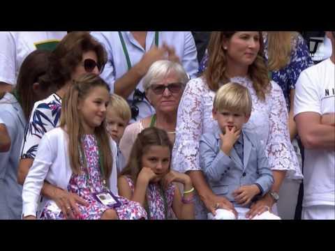 Wimbledon 2017 Federer Tennis Channel interview