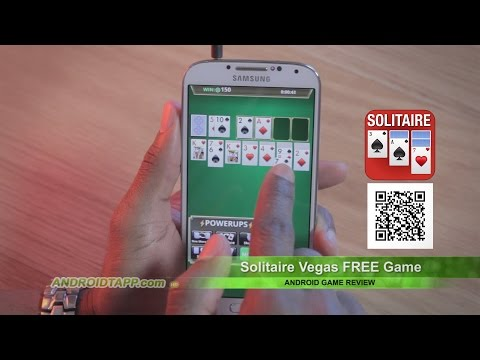 Solitaire Vegas FREE Game Review For Android