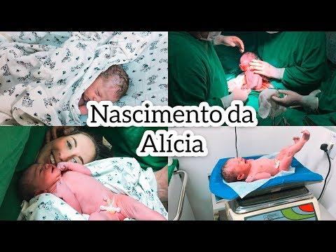 NASCIMENTO DA ALICIA l PARTO CESARIA l PRIMEIRO BANHO l PRIMEIRA TROCA