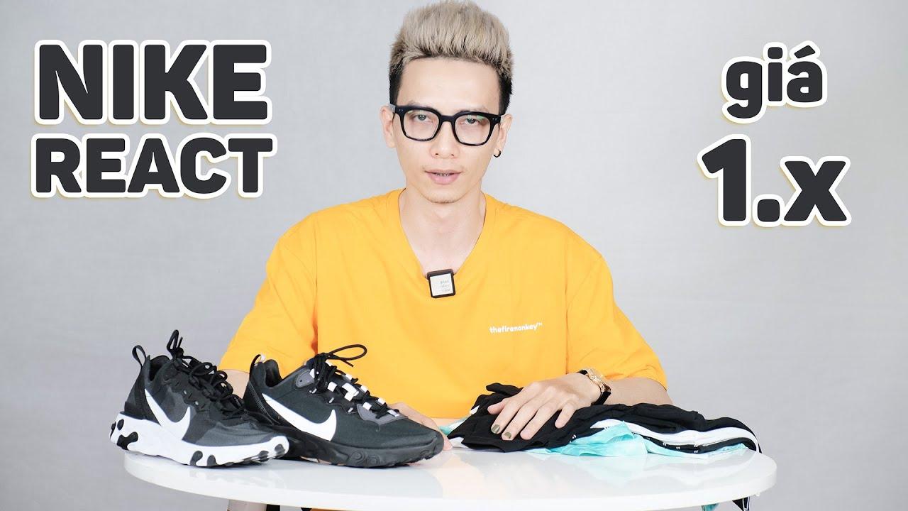 Vài đôi giày Nike nhẹ êm như đệm giá chỉ 1.x