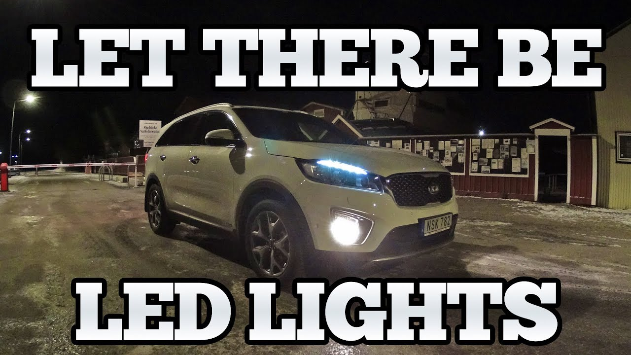 2016 Kia Sorento Front Light Combinations Drl Turn