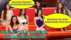 CAMERA INSIDE THE MASSAGE PARLOUR OF THAILAND