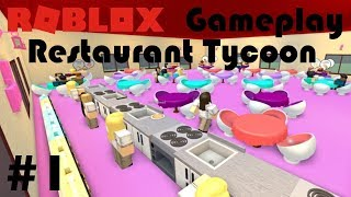 Roblox   Restaurant Tycoon Gameplay Part 1 (no commentary)