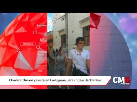 Charlize Theron ya está en Cartagena para rodaje de 'Flarsky'