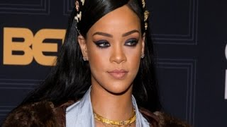 Rihanna at Star-studded Black Girls Rock! Event