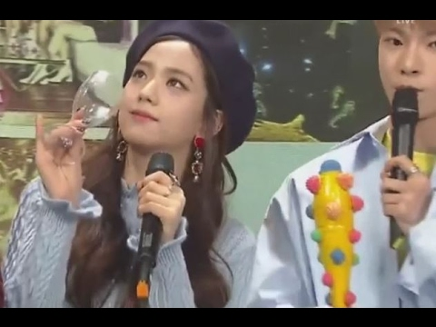 [CUT] 170205- MC BLACKPINK JISOO(SBS INKIGAYO) &RED VELVET /LINK