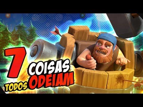 7 COISAS QUE TODOS ODEIAM NA BASE DO CONSTRUTOR - CLASH OF CLANS