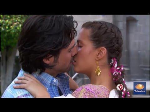 Simplemente María - El primer beso de María y Alejandro