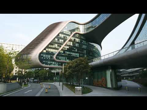 [4K60fps] Buildings In Shanghai   Sky SOHO by Zaha Hadid  Apr. 12, 2020