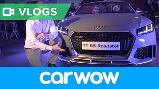 2016 Audi TT RS revealed – hear it, see it, love it? | Mat Vlogs
