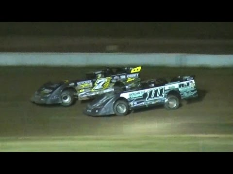 Crate Late Model Feature | McKean County Raceway | 7-14-16